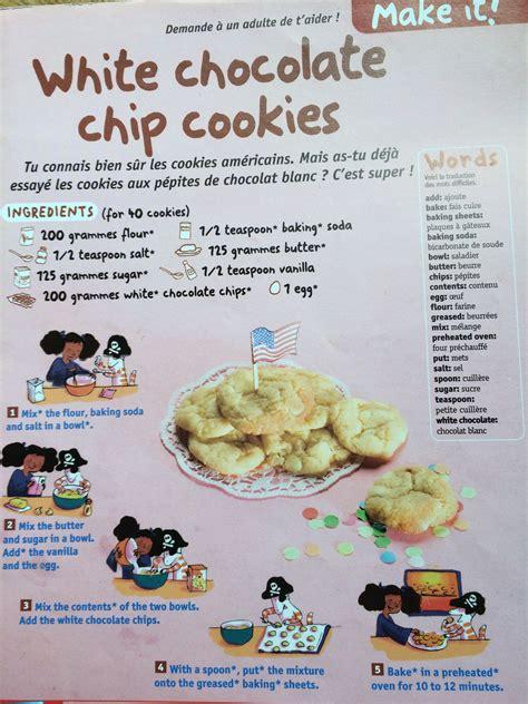 faire la cuisine en anglais recette de cuisine en anglais 28 images classe de cm2
