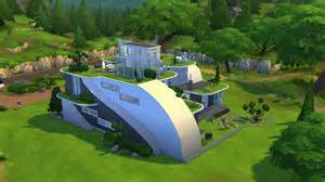 home floor plans the sims 4 futuristic house building