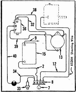1970 Sears Suburban Voltage Regulator Wiring