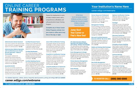 Online Career Training Programs 2page Spread Ad. Stage 3 Colon Cancer Treatment. Great Newsletter Templates Ged Online Classes. Swimming Pool Remodeling Ideas. How To Sell Your Diamond Cpe Courses For Cpas. How To Stop Alcohol Addiction. Online Histology Course Exxon Mobil Fuel Card. Interest On Payday Loans Luxury Rehab Centers. General Electric Stock Quotes
