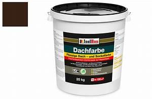 Dachlack Für Dachpappe : dach und sockelfarbe dachbeschichtung dachlack 20 kg braun polymermembran ebay ~ Orissabook.com Haus und Dekorationen