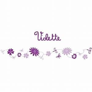 frise fleursviolet lili pouce stickers appliques With tapis chambre bébé avec tee shirt adidas femme fleur