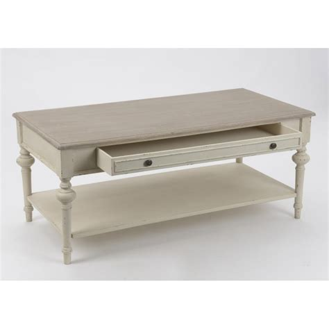 Table Basse Salon Bois Blanc Ezooqcom