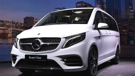 Mercedes V Klasse 2019 by Mercedes V Klasse Und Marco Polo Facelift 2019 Autogef 252 Hl