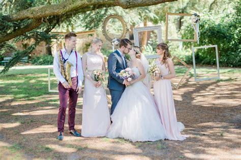 Garten Für Hochzeit Mieten Stuttgart by Quot Girly Pink Quot Gartenhochzeit In Ros 233 Und Wei 223 Liebe Zur