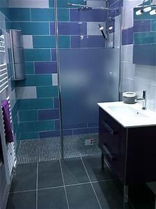 Refaire Une Douche : relooking d 39 une salle de bain d 39 appartement parisien ~ Dallasstarsshop.com Idées de Décoration