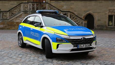 Hyundai Nexo hydrogen fuel cell EV joins German police fleet
