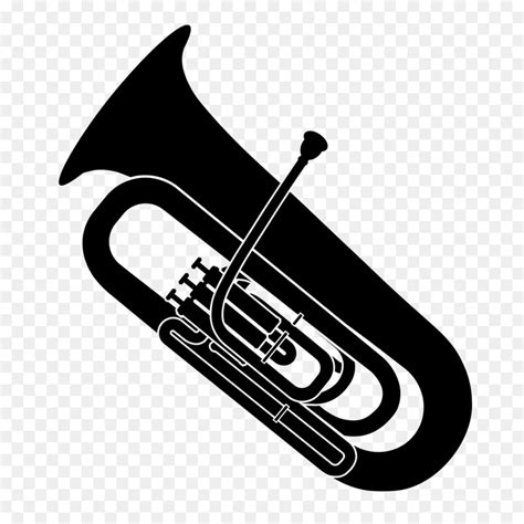 library  mellophone svg png files clipart art