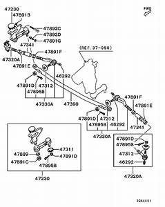 Steering Linkage For 1996  Triton  Sportero  Strada K75t