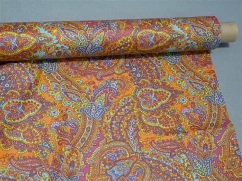 tessuto tovaglia antimacchia kashmir arancio stof cesano boscone