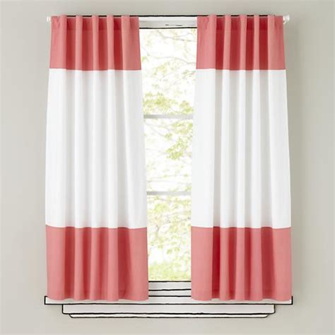 pink and white curtains curtains pink and white curtain panels the land of nod