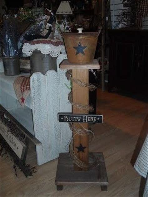 Primitive Decorating Ideas For Outside by 25 Best Ideas About Outdoor Ashtray On Pvc