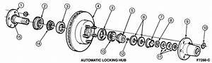 1994 Ford Ranger 4x4 Front Hub Diagram