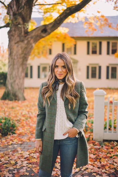 Tweed Fall Coat  Gal Meets Glam