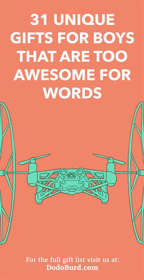 unique gifts  boys    awesome  words