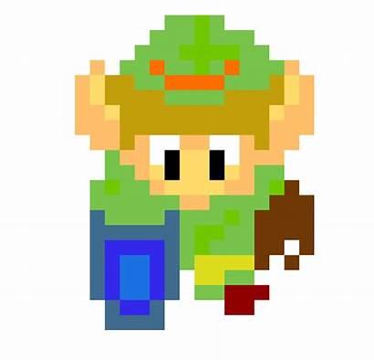 Link Pixel Colored Maker
