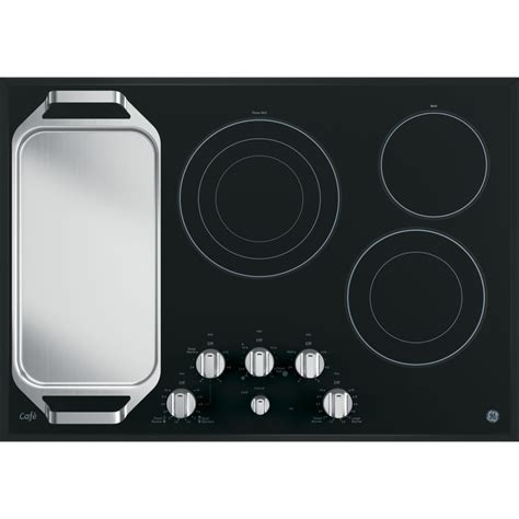 ge electric cooktop cp9530sjss ge cafe series 30 quot built in knob