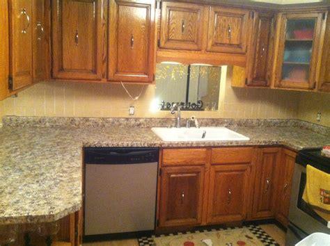 kitchens without backsplash finally the kitchen countertop post of lou