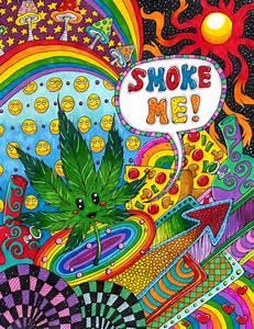 easy trippy weed drawings - Google zoeken | Art ...