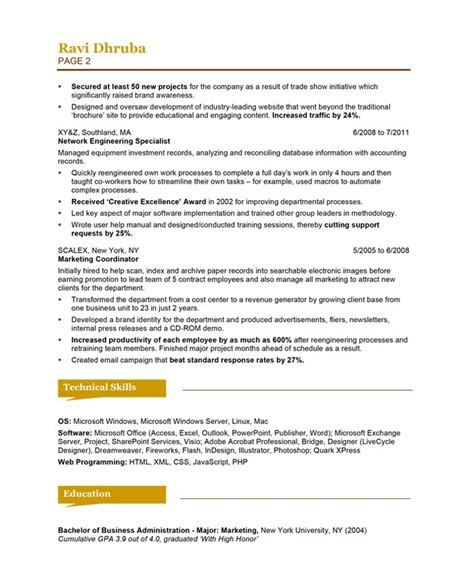exle for a resume admin resume exle best