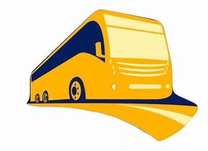 Bus Clipart Tour Clip Logos Trip Senior