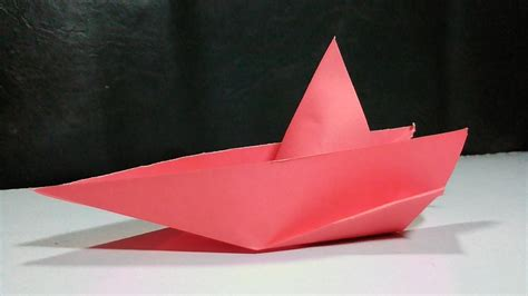 Origami Speed Boat by How To Make A Paper Speed Boat Origami Speed Boat