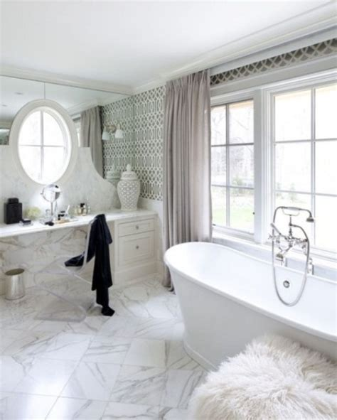 Modern Marble Bathroom Ideas by 48 Luxurious Marble Bathroom Designs Digsdigs