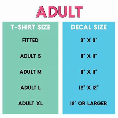 Decal Shirts Vinyl Adult Onesies Sizes Totes