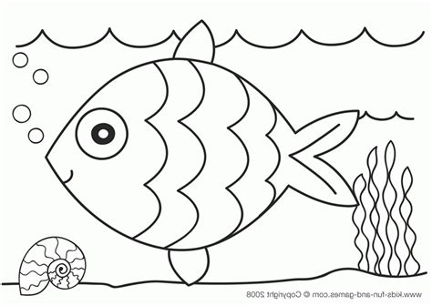 Coloring Fish by Fish Coloring Pages Bestofcoloring