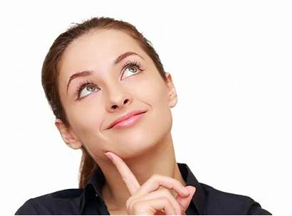 Thinking Woman Clipart Transparent
