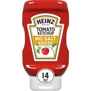 Is Heinz No Salt Added Tomato Ketchup Keto?   Sure Keto ...