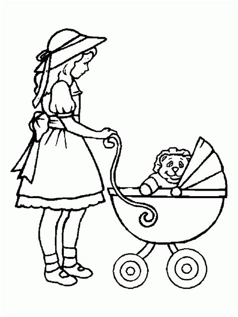 Cute Coloring Pages For Girls Coloring Home