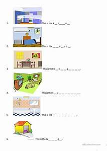 My House Worksheet Worksheet Free ESL Printable