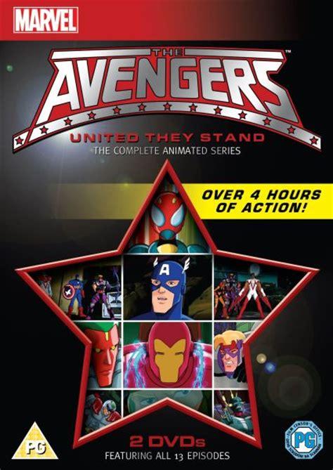 avengers  complete animated series dvd zavvi