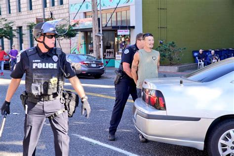 Police in Vancouver Arrest Man for Nearly Running Down ...