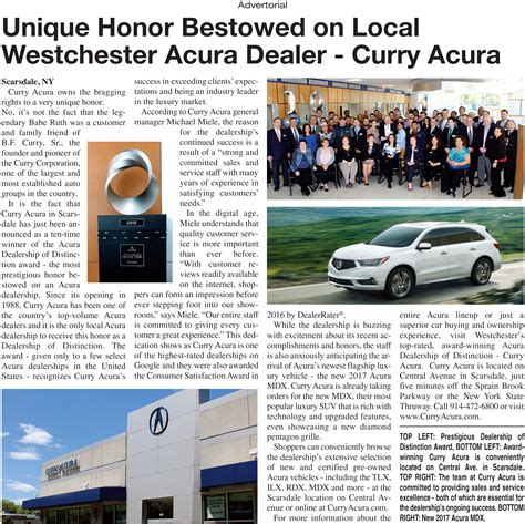 Acura Curry by Acura And Used Car Dealer Larchmont Curry Acura