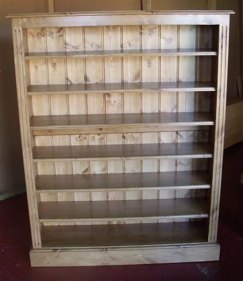 Dvd Bookcase by Pine Edwardian Waxed 4ft X 5ft Dvd And Cd Bookcase Media