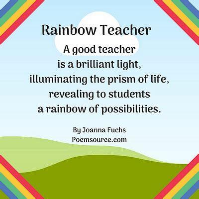 teacher poems  appreciation