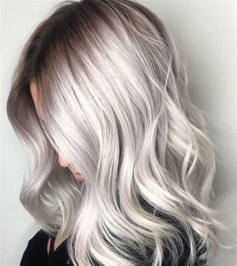 Coloration grise  ju0026#39;ai essayu00e9 le cheveux gris tru00e8s tendance