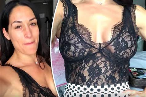 wwe news  wrestling star nikki bella suffers wardrobe