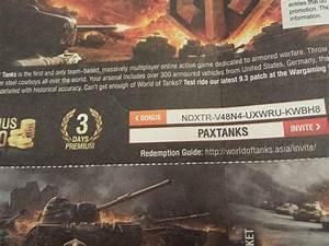 Wargaming, codes for World of Tanks, bonus Invite 2020