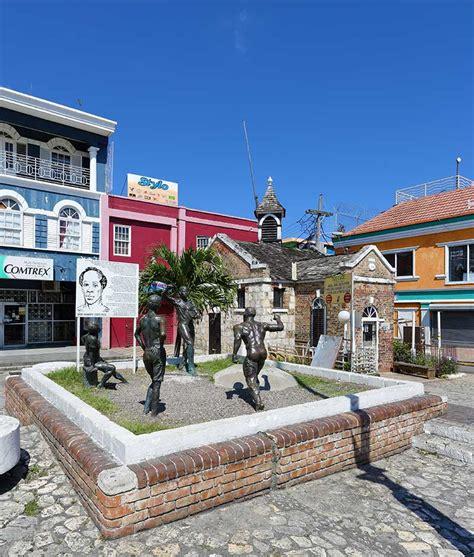 sam sharpe square in montego bay