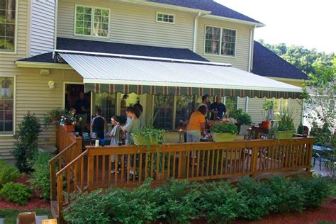 retractable awnings   gutters  awnings deck awnings outdoor fireplace patio