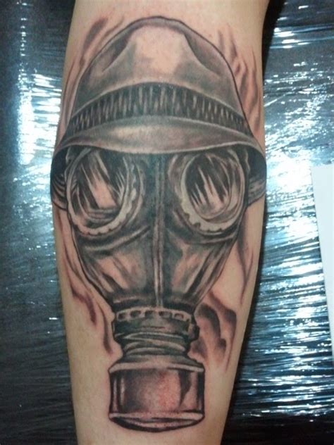 gas mask tattoos designs ideas  meaning tattoos
