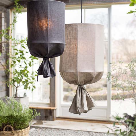 liten skira lampa taklampa tyglampa pr home sovrum