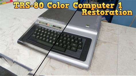 trs 80 color computer trs 80 color computer 1 restoration doovi