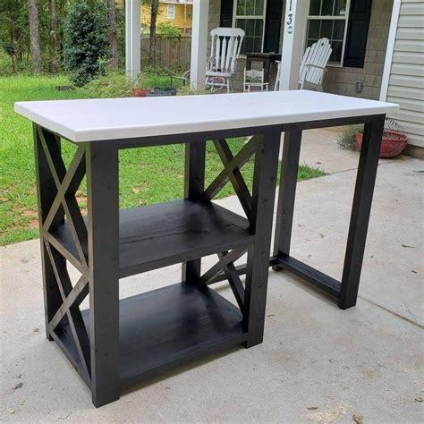 Free shipping on orders over $35! Rustic X Coffee Bar / Rustic X Farmhouse Coffee Bar / Mini Fridge Table / Dining Bar / Farmhouse ...