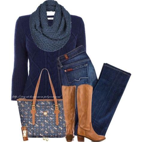 Cable Knit Sweater Polyvore Creators Fashion Autumn