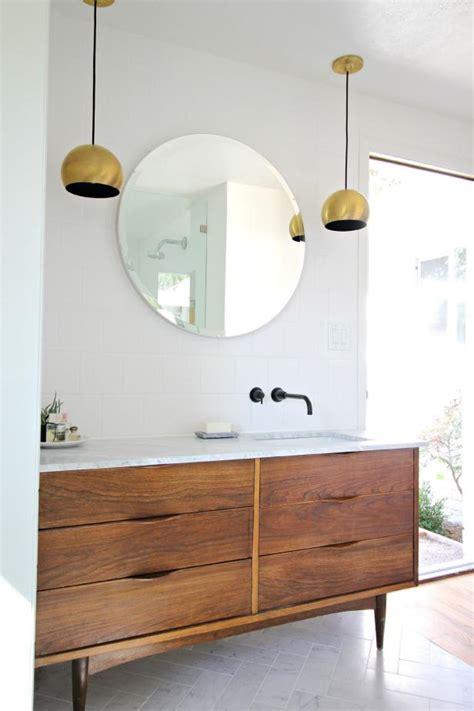 mid century modern sink vanity 3 vintage furniture makeovers for the bathroom diy