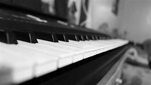 Grayscale Photo Of Piano Tiles  U00b7 Free Stock Photo